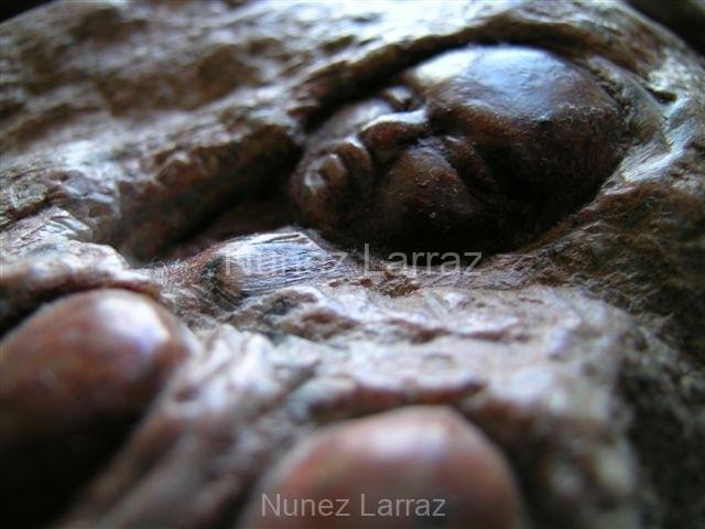 Babyrock, brons, 24x15x17cm