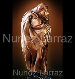 Bedoeien, steatiet (ook in brons), 20x10x17cm