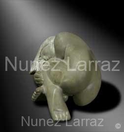 Sleeping beauty, steatiet (ook in brons), 9x7x5cm