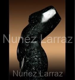 Torso, hardsteen, 47x18x19cm